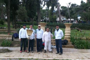 Il verde della Villa comunale gestito dai ragazzi de Il Recinto di Michea
