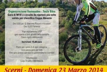 Scerni: tutto pronto per la III edizione del Trofeo Ventricina di mountain bike
