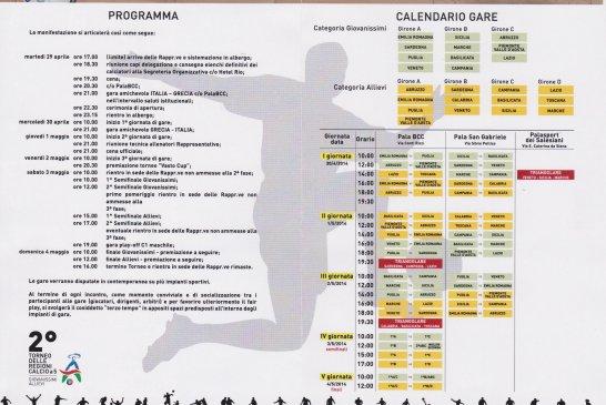 calendario torneo calcio a 5