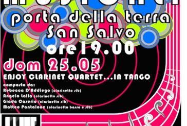 San Salvo: Enjoy Clarinet Quartet… in Tango al secondo appuntamento di Primavere musicali