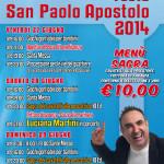Festa San Paolo Apostolo 2014