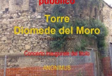 Torre Diomede del Moro di Vasto, con un concerto domani la riapertura al pubblico