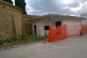 Camposanto Chiesa prospetto lato dx