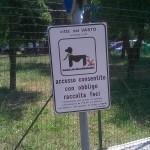 Foto cartello cani - Contesto