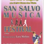 San Salvo Musica Festival, 3 lug 14, locandina
