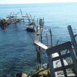 San Vito Marina (Chieti): trabocco di Punta Turchino reso celebre da D'Annunzio ne 'Il Trionfo della Morte'