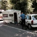 Incidenti stradali roulotte sulmona