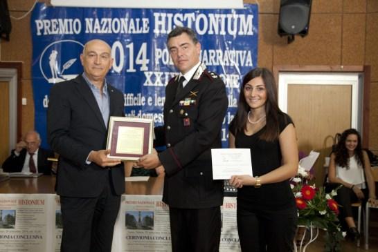 Histoniun d'Oro a Giuseppe Tagliente