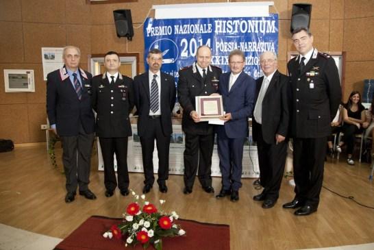 Premio Cultura alla Legione Carabinieri d'Abruzzo