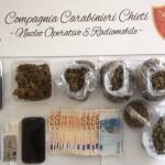 Sequestro marijuana e bilncini