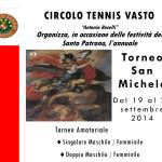 locandina torneo san michele 2014 - circolo tennis