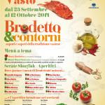 manifesto Brodetto&Contorni 2014