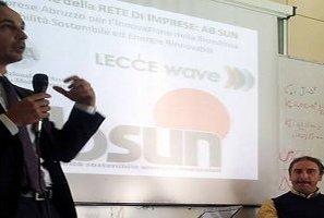 La rete di imprese vastese Ab Sun all'Università dell'Aquila