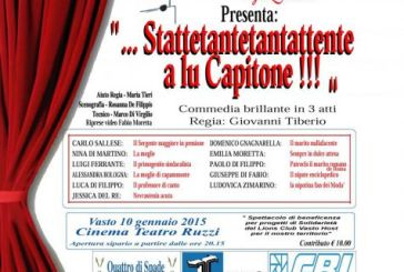 A teatro con il Lions Club Vasto Host: il ricavato in beneficenza a Il Recinto di Michea