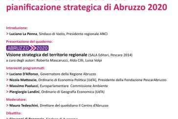 Un convegno Anci Abruzzo su pianificazione territoriale secondo Abruzzo 2020