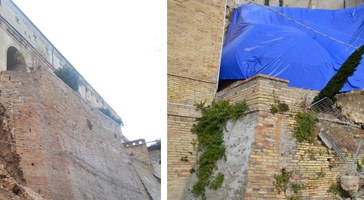 Palazzo d'Avalos, nessun monitoraggio.