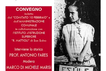 San Salvo: Il Giorno del Ricordo, Antonio Fares  all'IIS