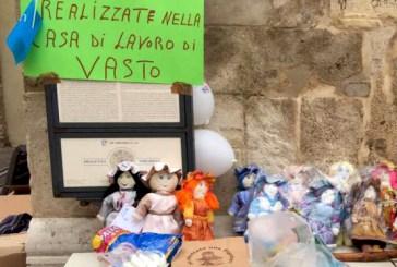 Iniziativa pro Unicef, vendute le pigotte realizzate all'interno della Casa lavoro di Vasto