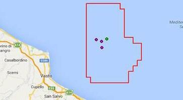Deriva petrolifera, sì a quattro nuovi pozzi di estrazione di fronte le coste di Vasto
