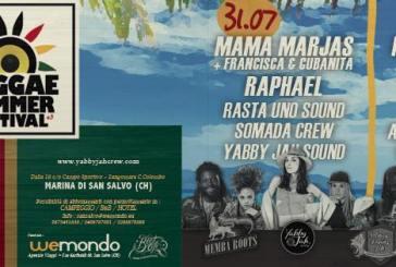 San Salvo: la Marina ospiterà la III edizione del Reggae Summer Festival