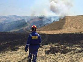 Incendi boschivi, firmata la convenzione con i Vigili del Fuoco e Forestale