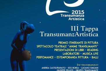 Transumanzartistica a Vasto, dal 31 luglio al 2 agosto