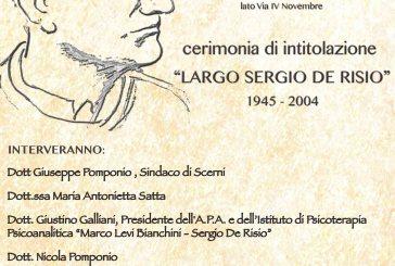 Scerni: la comunità onora l'illustre concittadino Sergio De Risio