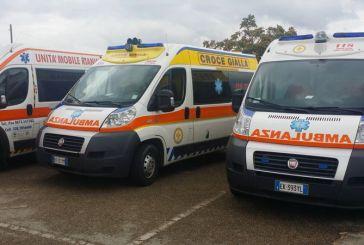 Incidente stradale sulla strada Istonia: in ospedale i due autisti