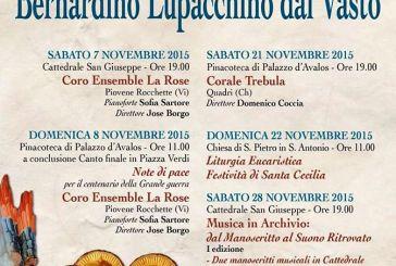 La XV edizione della Rassegna musicale 'Bernardino Lupacchino dal Vasto'