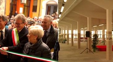 Vasto: inaugurato il ristrutturato mercato di Santa Chiara