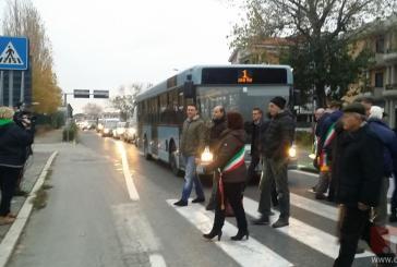 Protesta dei sindaci: Tagliente