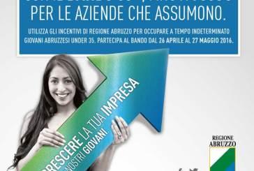 Regione Abruzzo, affluenza record per il bando 30+