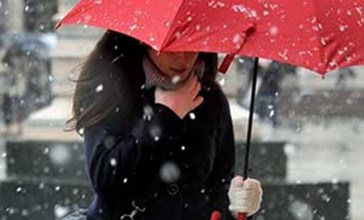 Neve fin sulla costa e venti di burrasca, emesso l'avviso di condizioni meteorologiche avverse