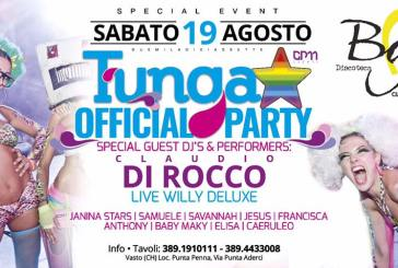 "Al Baja Village il ""Tunga Official Party"""