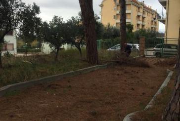 Ex Asilo Carlo Della Penna, lavori per sistemare l'area esterna