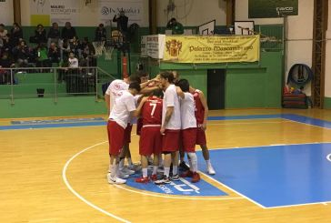 La Vasto Basket vince a Chieti e vola in testa alla classifica