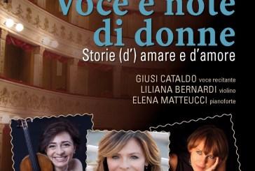 Concerto tra musica e parole con Storie d'amore e di donne al Teatro Rossetti