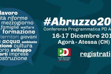 #Abruzzo2030, la prima Conferenza Programmatica del Partito Democratico