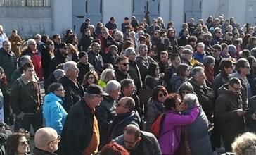 Ecco la  marcia silenziosa contro il cementificio