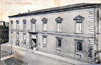 Palazzo d'Avalos, dove abitarono i
