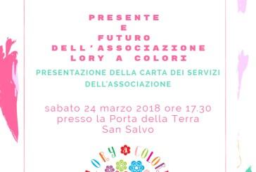 """Marzo Rosa, """"PrendiTi cura di TE"""" con l'Associazione Lory a colori"""