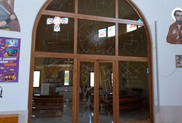 Nella Chiesa di San Marco Evangelista un'artistica vetrata