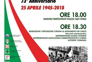 San Salvo, le celebrazioni del 73° anniversario della Liberazione