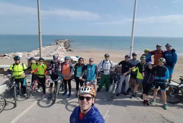 In bici da Punta Penna a Fossacesia per dire no alle trivelle