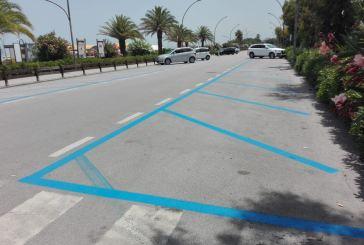 Stop alle strisce blu a Vasto Marina