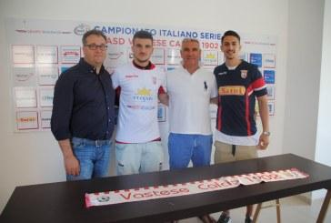 Ufficiale: Christian Iarocci ed Antony Viscardi restano alla Vastese