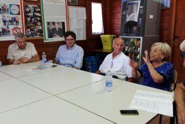 Il Sindaco Menna e l'assessore Marchesani in visita all'Associazione San Paolo