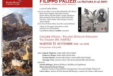 Il volume sul Palizzi a Napoli l'11 settembre