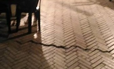 Vasto, sul belvedere Adriatico crepe sul pavimento