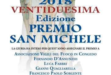 Oggi il Premio San Michele